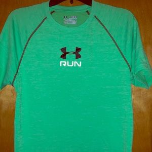 Under Armour Heat Gear Fitted Men's M Shirt EUC